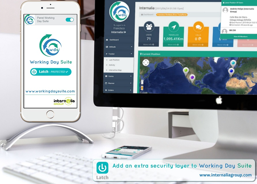 INTERNALIA GROUP INCREASES WITH LATCH OF ELEVENPATHS SAFETY FOR USERS OF ITS APP STAR: WORKING DAYSUITE