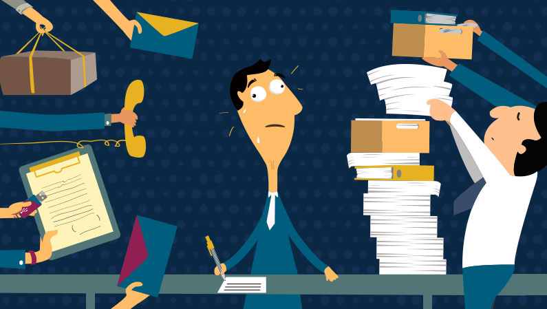 How the business applications can reduce work related stress